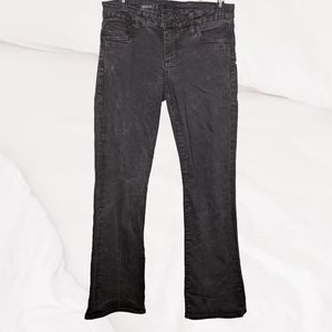 Kut from Kloth Black Baby Bootcut Denim Jeans 6S